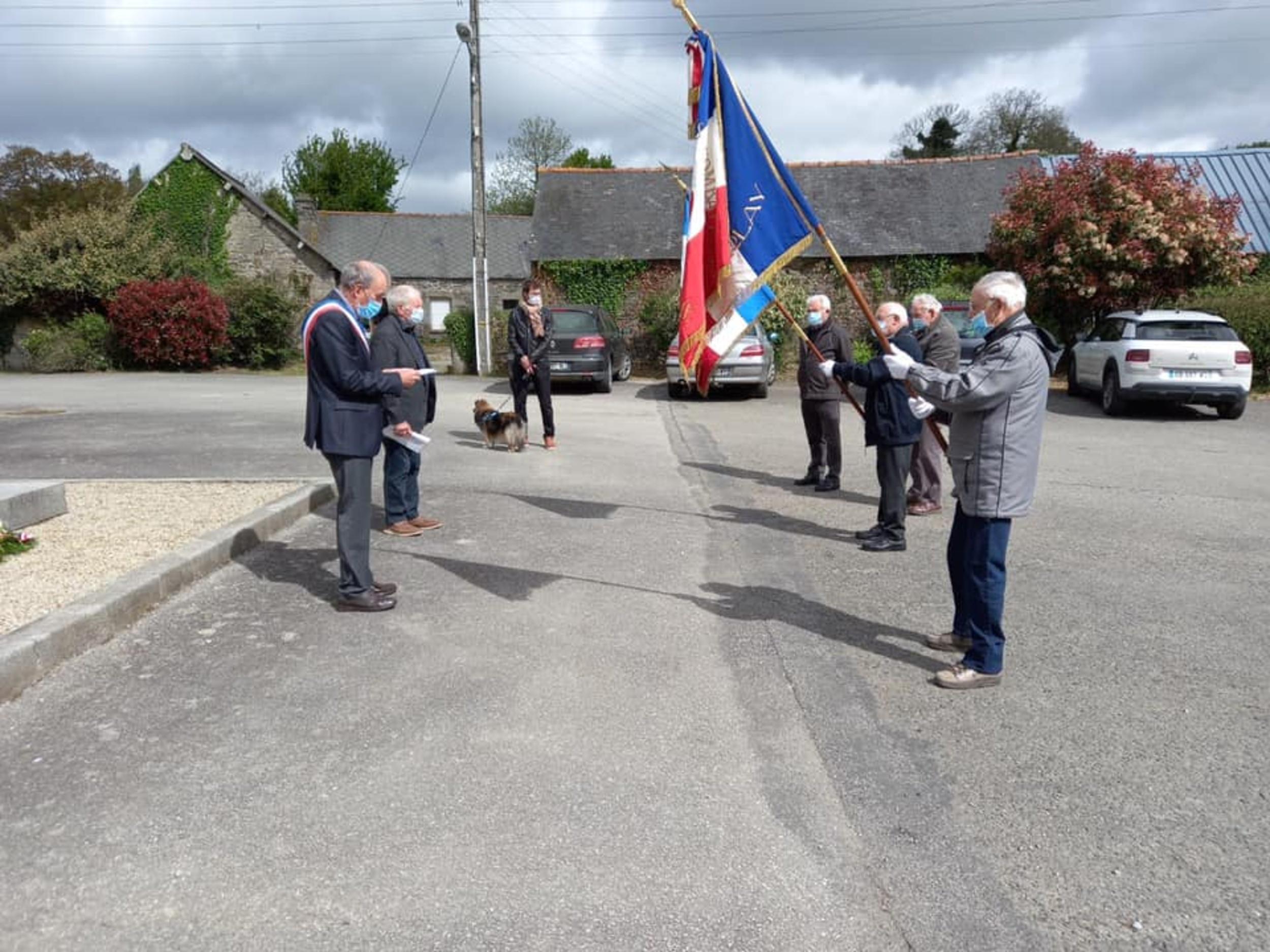 Commémoration du 76ème anniversaire de la victoire du 8 mai 1945 au Haut-Corlay