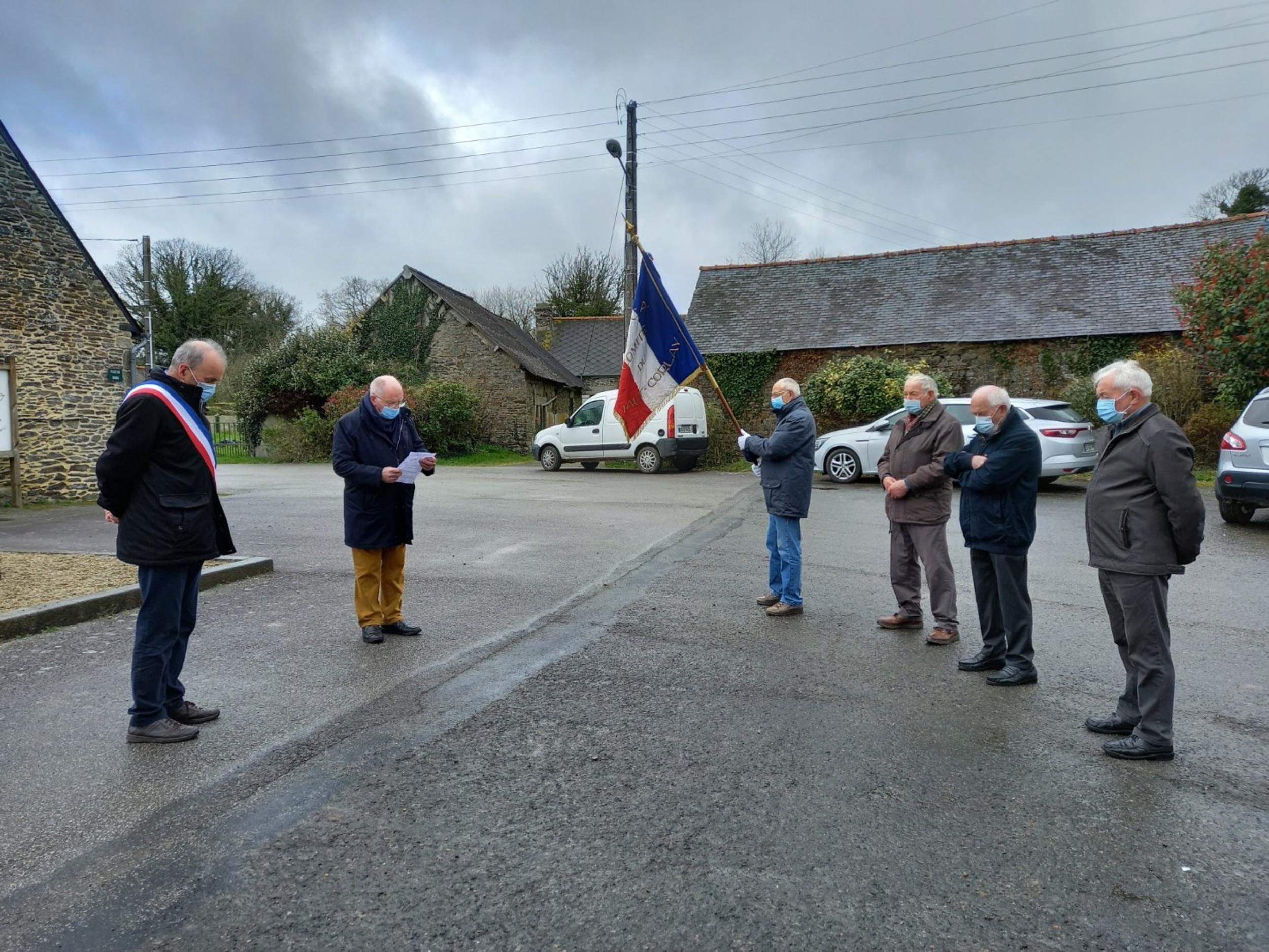 Le Haut-Corlay: Commémoration du 59ème anniversaire du 19 mars 1962