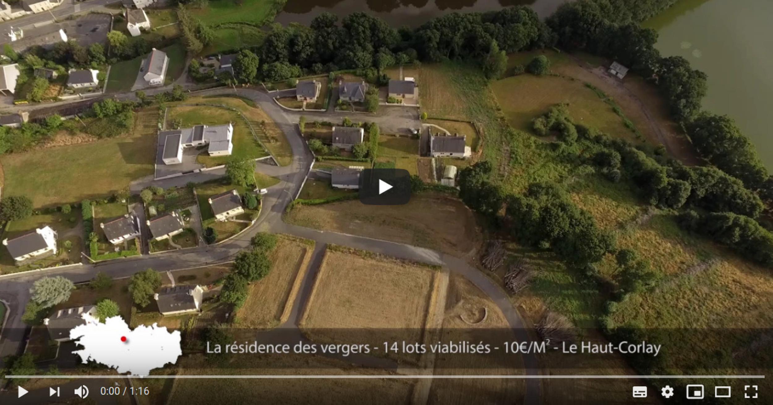Le Haut-Corlay - terrains à vendre au cœur de la Bretagne