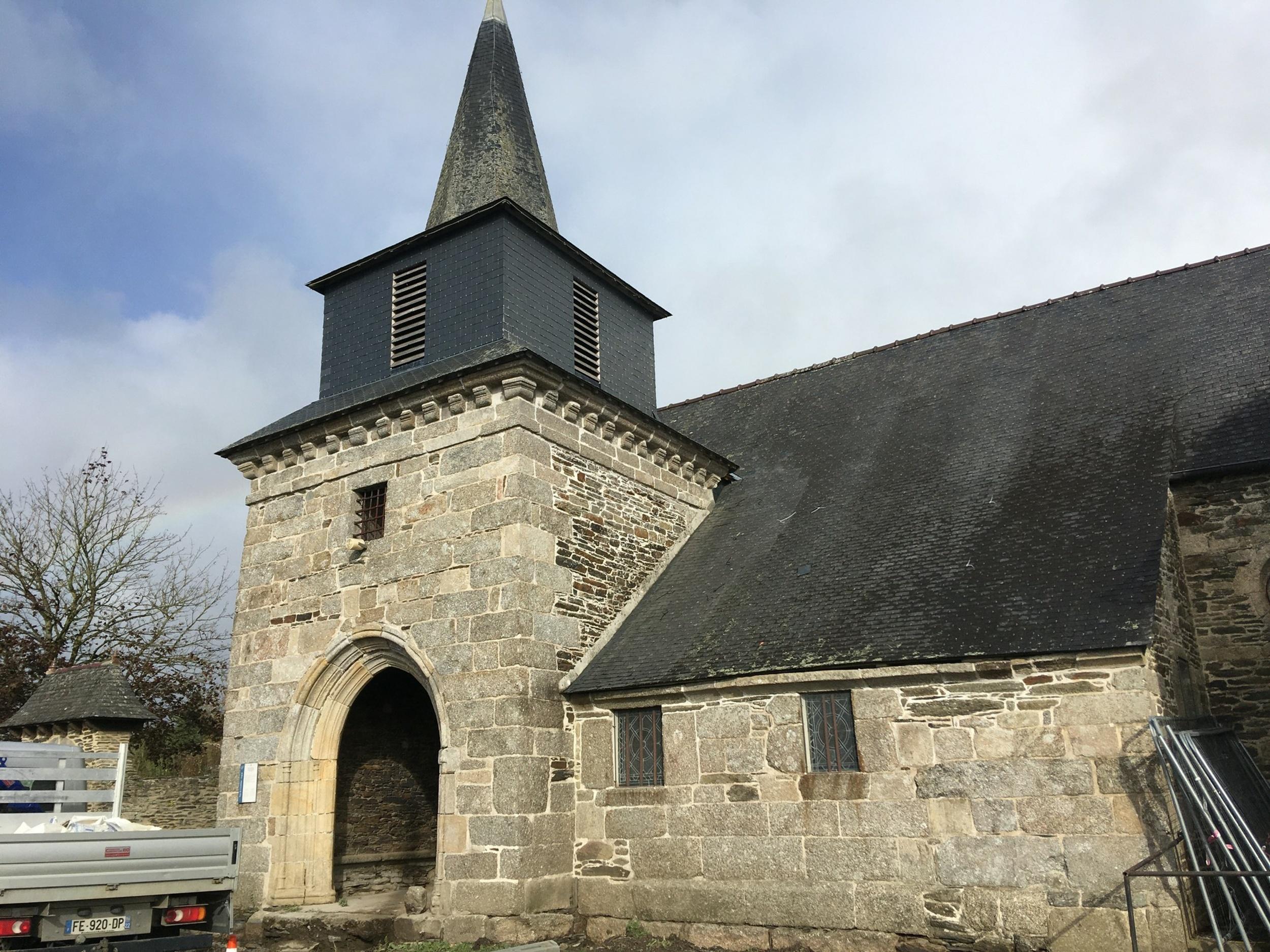 Restauration de l''église Sainte Philomène